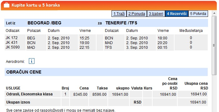 Letovi Za Tenerife Septembar Najjeftinija Avionska Karta