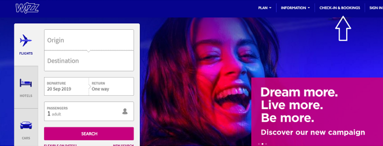 wizzair-login